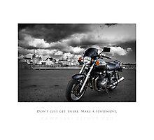 Jonas' Bike Photographic Print