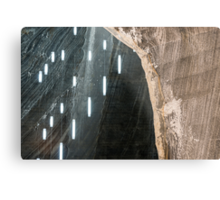 Salt Mine  Metal Print
