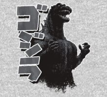 Godzilla Black and White by leea1968