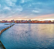 Margate at dawn by Geoff Carpenter