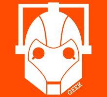 Geek Shirt #1 Cyberman (White) Kids Clothes