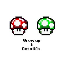 Grow up and get a life by erndub
