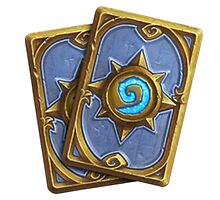 Hearthstone logo  by Clengtan