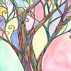 Rainbow Tree 2 by Natalie Seaton