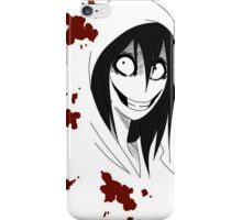 Jeff the Killer iPhone Case/Skin