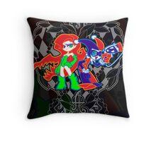 Ivy & Harley V2 - Gothamettes Throw Pillow