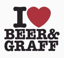 i love beer and graff by MParis