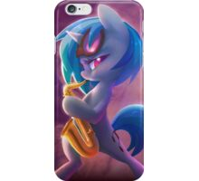 Vinyl Scratch Sax iPhone Case/Skin