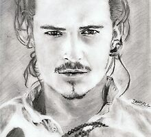 orlando b. - in pencil by danijelg