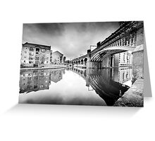 Castlefield, Manchester Greeting Card