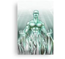 Mechanical Sea Canvas Print