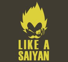 Feel like a Saiyan (y) by karlangas