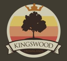 Game of Thrones - 'Kingswood' vintage badge by housegrafton