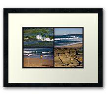 Seaside Snippets - Beachcomber Series Framed Print