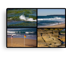 Seaside Snippets - Beachcomber Series Canvas Print