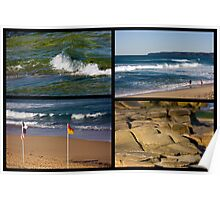 Seaside Snippets - Beachcomber Series Poster
