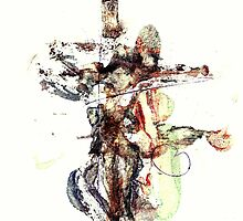 Crucifixion II 3, Christ in Ecstasy by Louie-Paulo Darang