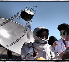 The Dish and Elvis Meet by Cyn Piromalli