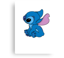 Very cute Stitch Canvas Print
