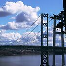 THE TACOMA NARROWS BRIDGE  by MsLiz