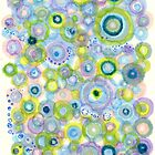 iris waves by Regina Valluzzi