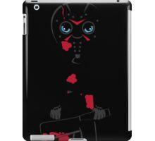 Masked Killer Silhouette iPad Case/Skin