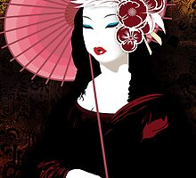 Fior Da Lisa - Geisha Mona Lisa by DesignDinamique