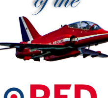 50 years of the Red Arrows Sticker