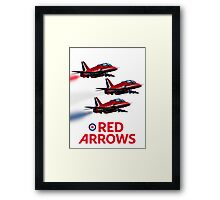 The Red Arrows reach 50 Framed Print