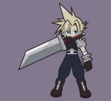 Cloud Strife Fan Art by everlander