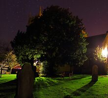graveyard by night by bundug