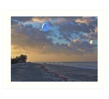 With the Morn Art Print