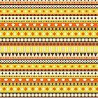 Stripes yellow. by Ekaterina Panova