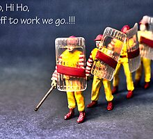 Hi Ho, it's off to work we go.... by Tim Constable
