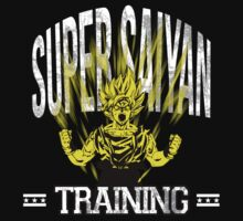 Super Saiyan Traning by Declan Black