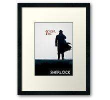Sherlock: Goodbye John Framed Print