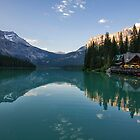 Emerald Lake Lodge by Charles Kosina