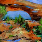 Toward the Arch by Elise Palmigiani