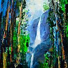 Yosemite Falls by Elise Palmigiani