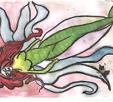 Psychedelic Mermaid by missbonnieblu