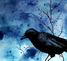 Crow Veins by LVBART