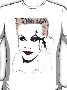 P!nk Digital Art T-Shirt