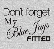 Blue Jays Fitted (BJF1001) by Wordplay Unltd.