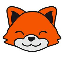 Cute Little Fox Child Face by Style-O-Mat