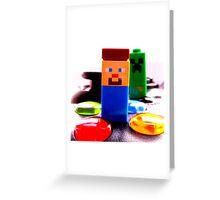 minecrafting Greeting Card