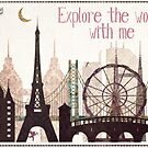 explore the world with me by Sybille Sterk