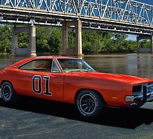 "1969 Dodge Charger RT ""General Lee"" Replica by TeeMack"