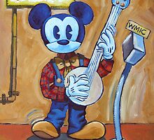 Banjo Mouse by Robert Holewinski