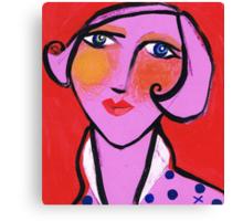 Meryl is looking smart Canvas Print