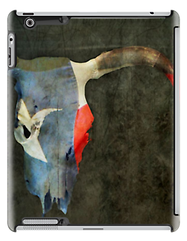 Longhorn iPad Case by SuddenJim